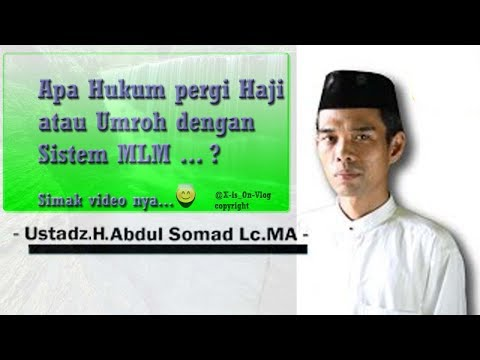 Hukum Pergi Haji/ umroh Dengan cara MLM   [Tentang RIBA]
