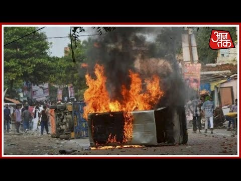 Shatak AajTak | Clashes Break Out Between Two Groups In Bihar's Ara ; Many Injured