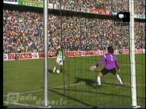 Bolivia 3-1 Uruguay, Eliminatorias 1993   Relato de Grover Echavarría (Radio Deporte)