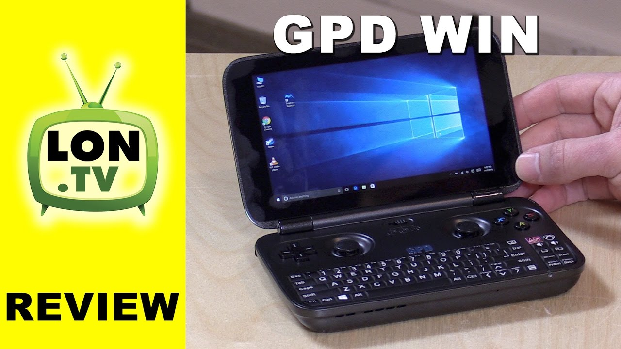 gpd win review portable handheld windows pc gaming game streaming emulators youtube. Black Bedroom Furniture Sets. Home Design Ideas