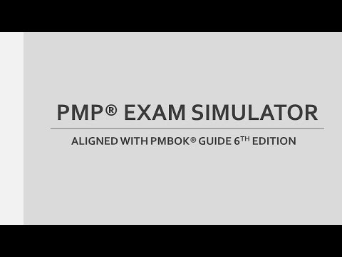 PMP Exam Simulator for PMBOK 6th Edition