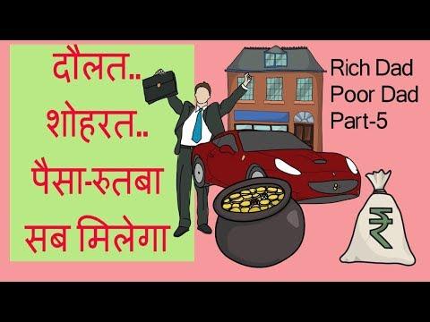 Chapter-5/ RICH DAD POOR DAD BY ROBERT KIYOSAKI/Hindi