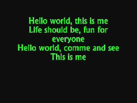 Grand Galop Hello World Paroles