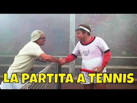 Fantozzi E Filini 🎬 La Partita Di Tennis 😄😄