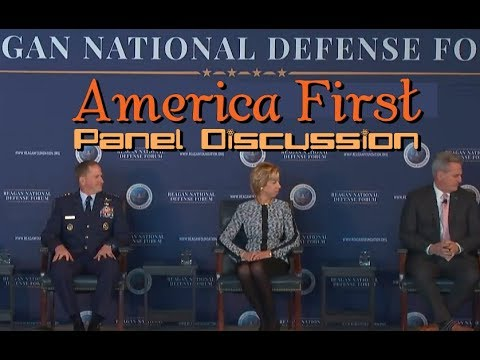 Reagan Defense Forum: Donald Trump's AMERICA FIRST Policy Discussion Panel.