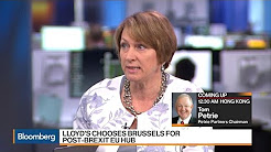Lloyd's CEO Says Brussels to Be Post-Brexit EU Hub