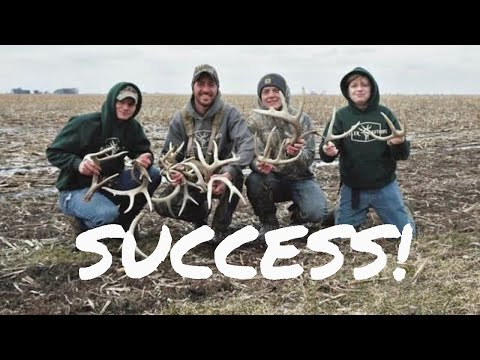 Shed Hunting 4 Life - Our First Illinois Sheds!