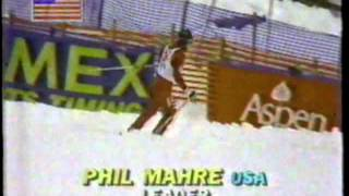 1983 Aspen and Vail World Cup Races - Phil Mahre, Marc Ghiradelli and Ingemar Stenmark