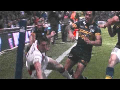 Tom Makinson Scores A Fantastic Try For St Helens Vs Leeds Rhinos 21/05/2012 HD