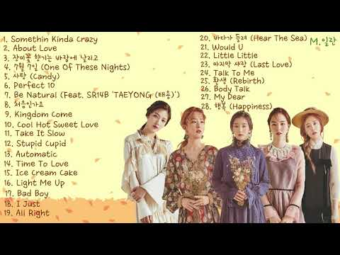 Red Velvet's Collection Songs-레드벨벳 벨벳컨셉 노래 모음 연속듣기