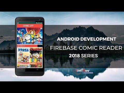 Android Studio Tutorial - Firebase Comic Reader App 1.Setup Firebase And Splash Screen