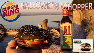 burger king a1 halloween whopper review