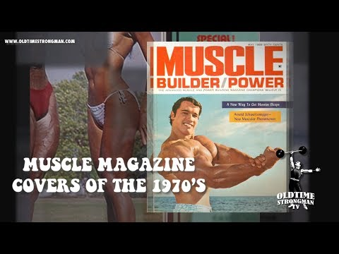 Oldschool Bodybuilding: Episode #5: Muscle Magazine Covers Of The 1970's