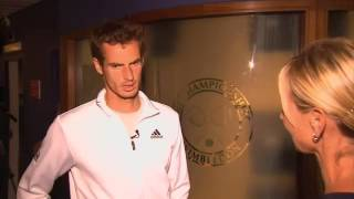 Andy Murray 'Exhausted' After Wimbledon Victory
