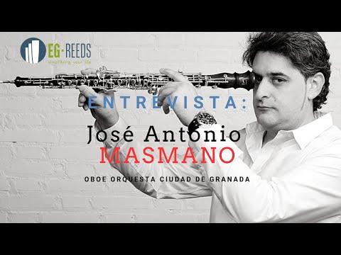 Entrevista José Antonio Masmano Villar - Oboe Orquesta Ciudad De Granada