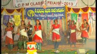 Riva Rivala Matha Medley Dance CPM School Day 2013.flv