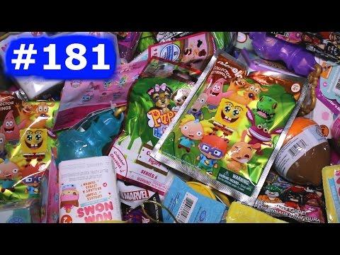 Random Blind Bag Box Episode #181 - Squinkies Squashies, Grossery Gang, Marvel Tsum Tsum, Num Noms