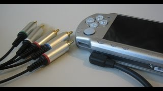 PSP an TV anschließen und spielen + Testgameplay
