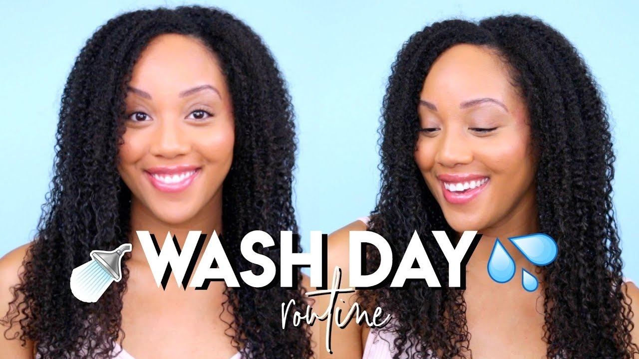 showing 3rd image of My Natural Hair Routine Start To Finish Youtube Trim + Silk Blowout + Dry Hair Solutions | My 3 Month ...