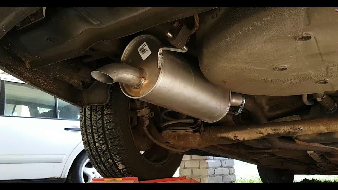Opel Astra G Zafira A Reparatursatz für Auspuffanlagen