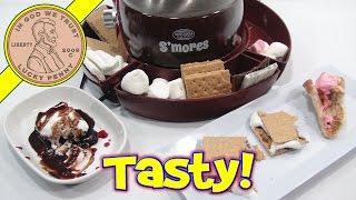 S'mores Maker, Chocolate Cherry Delight & Fluffernutter!