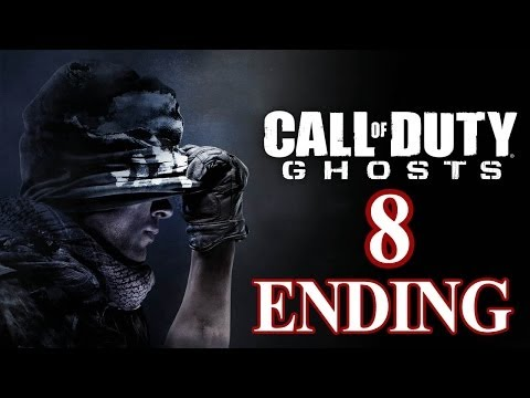 Call of Duty: Ghosts [ENDING] Walkthrough PART 8 [PS3] TRUE-HD QUALITY