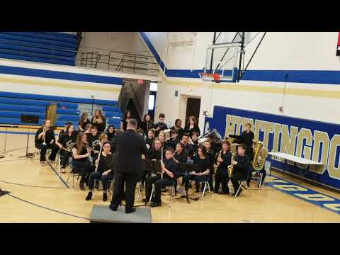 Huntingdon Middle School 7th/8th grade band Spring Concert 2018