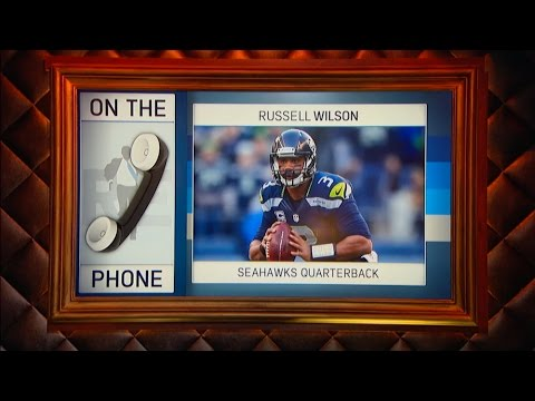 Seattle Seahawks QB Russell Wilson Talks NFL Playoffs & More - 1/11/17