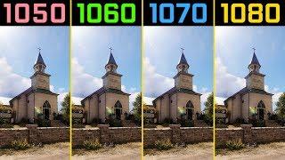 Far Cry 5 GTX 1050 Ti vs. GTX 1060 vs. GTX 1070 vs. GTX 1080 | i7-7700K