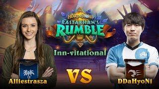 Rastakhan's Rumble Inn-vitational - Alliestrasza vs DdaHyoNi