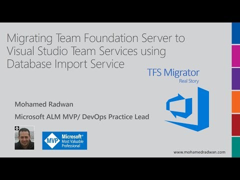 Migrating Team Foundation Server To Visual Studio Team Services Using Database Import Service