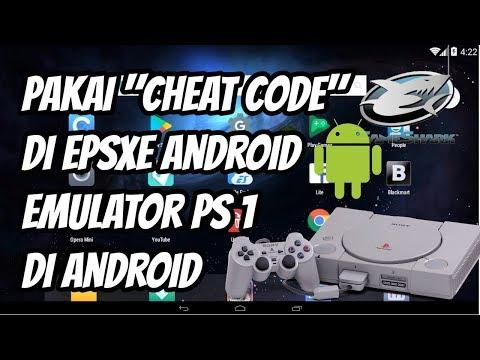 Cara Pakai Cheat Code Di EPSXE Android, Emulator Playstation 1 Di Android