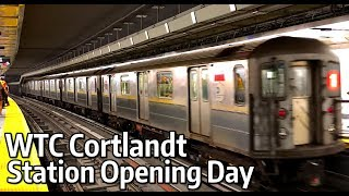 ⁴ᴷ WTC Cortlandt Station Opening Day
