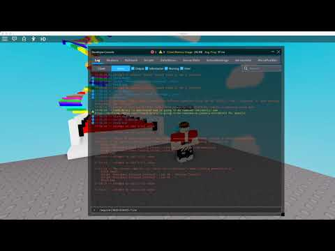 How To Add Ultimate Trolling Gui With Dev Console Roblox Youtube