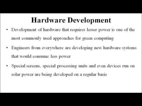 Approaches for Green Computing : Computer Science Homework Help by Classof1.com