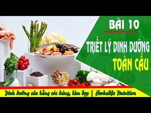 Bài 10: Triết lý dinh dưỡng toàn cầu   Herbalife Nutrition    Dinh dưỡng cân bằng, bảo vệ sức khoẻ