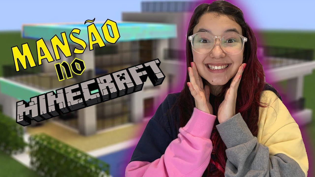 CONSTRUÍ MINHA NOVA CASA NO MINECRAFT !! UMA NOVA AVENTURA | Luluca