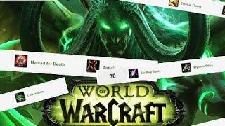 World of Warcraft: Legion Калькулятор талантов