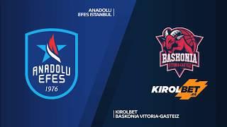 #EuroLeague 10. Hafta: Anadolu Efes - KIROLBET Baskonia