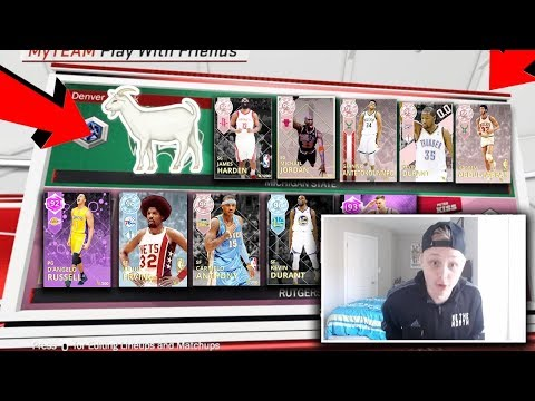 AMETHYST D'ANGELO RUSSELL GOES OFF VS 5 PINK DIAMONDS!!! PD GIANNIS, MJ, KAREEM, AND MORE!! NBA 2K18
