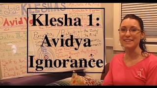 """Yoga Board"" for Klesha 1- AVIDYA: Ignorance - LauraGyoga"