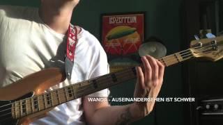 Wanda - Auseinandergehen Ist schwer (Bass Cover)
