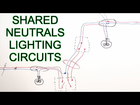 Borrowed Neutrals & Old Lighting Circuits - YouTube