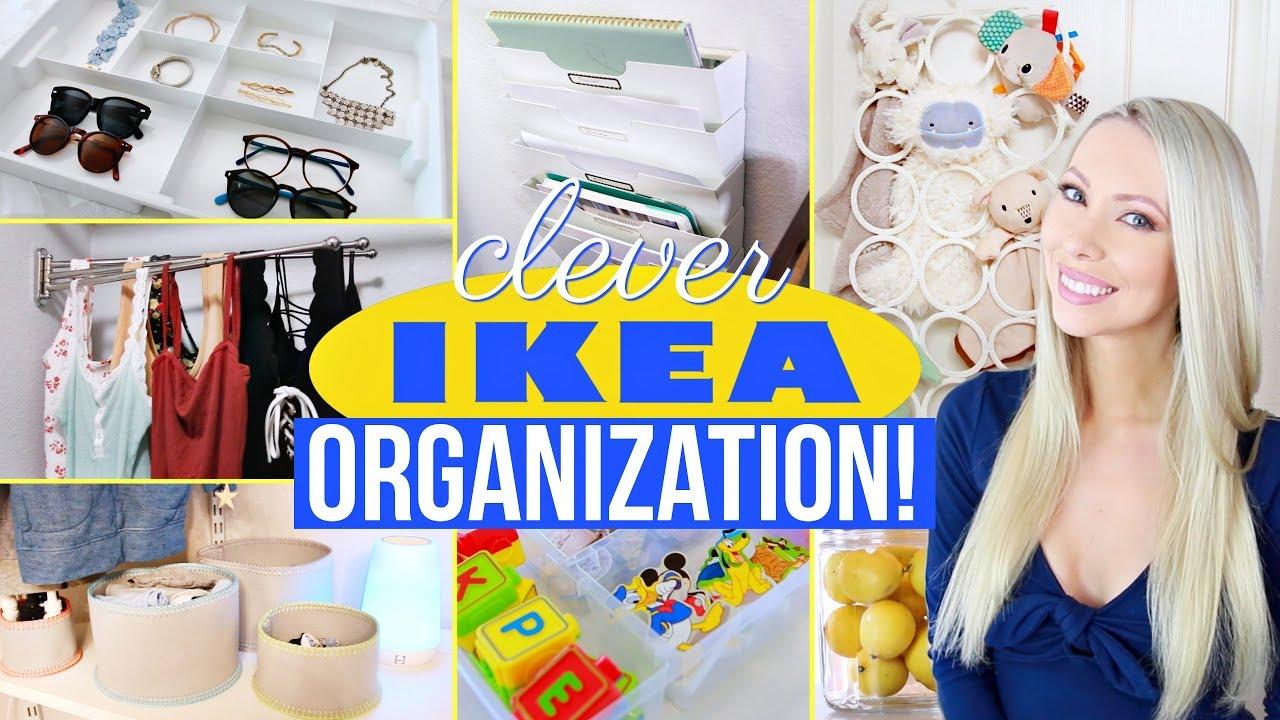 22 Clever IKEA Organization Ideas!