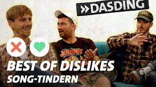 Song-Tindern - Best of Dislikes: Fynn Kliemann, Marteria und Co. swipen auf's X| DASDING Interview