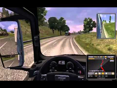 Euro Truck Simulator2 ฝึกเป็นคนขับรถบรรทุก