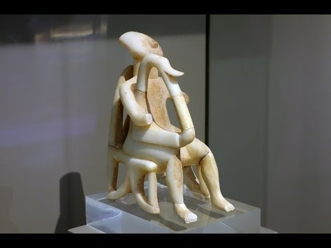 Harp Player, Early Cycladic period (Bronze age)