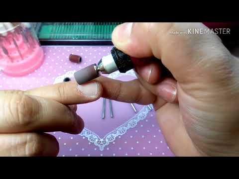 Como usar el drill para uñas/ preparación de uña natural