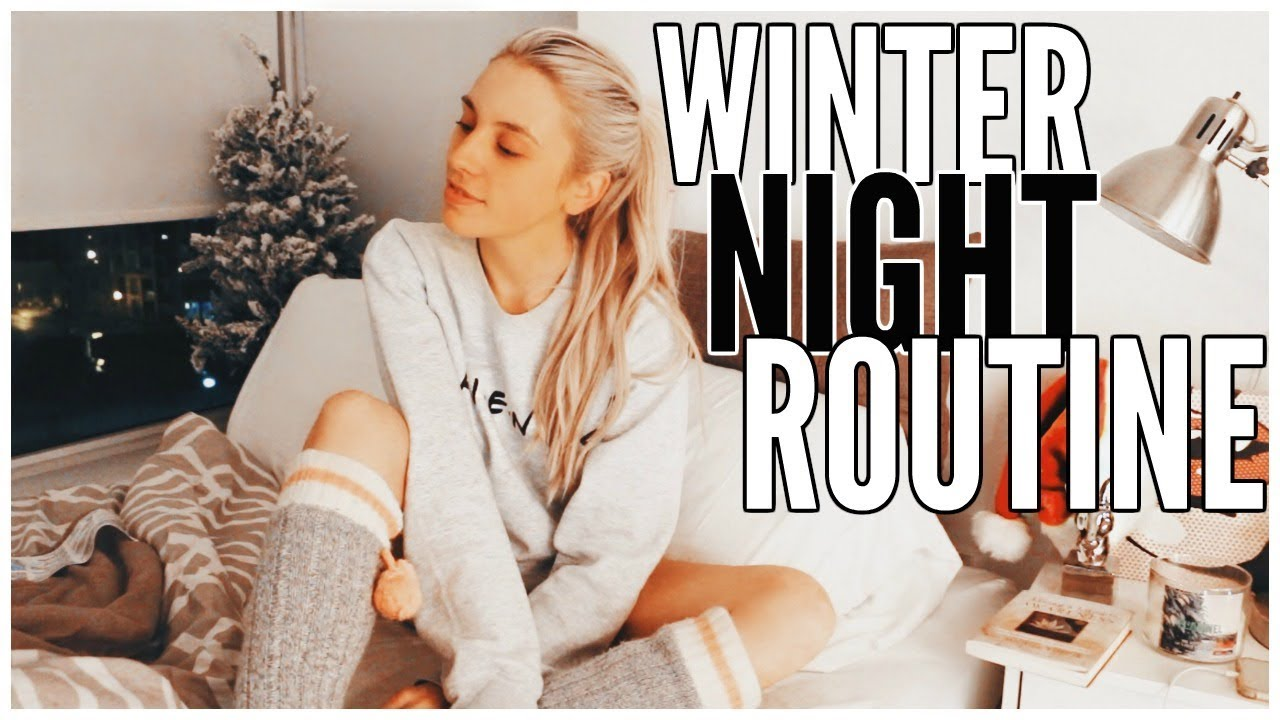 winter-night-routine-kalyn-nicholson