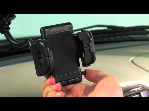 Bracketron's Grip-iT Car Windshield Mount -- Features & Installation